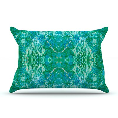 Nikposium Chili Pillow Case Color: Teal/Green