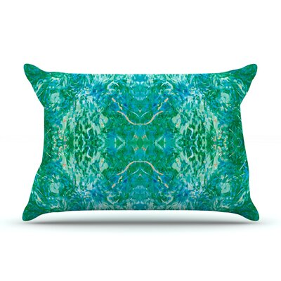 Nikposium Eden Teal Green Featherweight Sham Size: King, Fabric: Woven Polyester