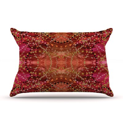 Nikposium Summer Pillow Case Color: Red