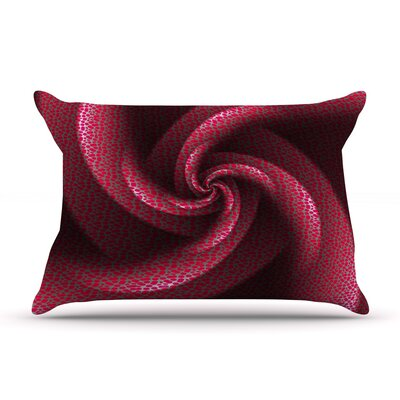 Isabellas Pinwheel by Michael Sussna Featherweight Pillow Sham Size: King, Fabric: Woven Polyester