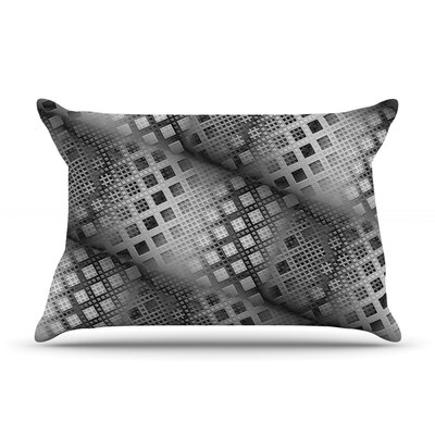 Array Decay by Michael Sussna Featherweight Pillow Sham Size: King, Fabric: Woven Polyester