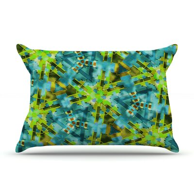 Pollenesia by Michael Sussna Featherweight Pillow Sham Size: Queen, Fabric: Woven Polyester