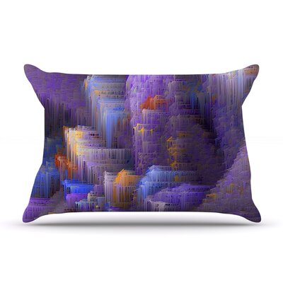 Purple Mountain Majesty by Michael Sussna Featherweight Pillow Sham Size: Queen, Fabric: Woven Polyester