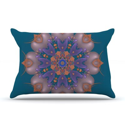 Whisker Lily by Michael Sussna Featherweight Pillow Sham Size: Queen, Fabric: Woven Polyester