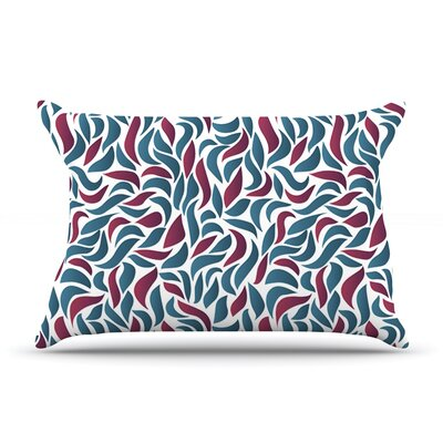 Collide by Nick Atkinson Featherweight Pillow Sham Size: Queen, Fabric: Woven Polyester
