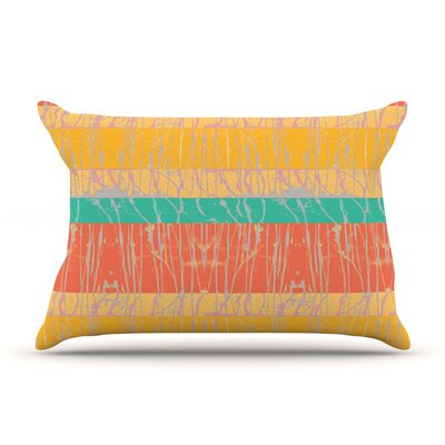 Desert Splatter by Nina May Featherweight Pillow Sham Size: King, Fabric: Woven Polyester