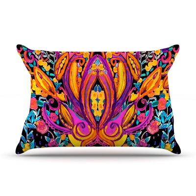 Paisley Garden by Nikki Strange Featherweight Pillow Sham Size: King, Fabric: Woven Polyester