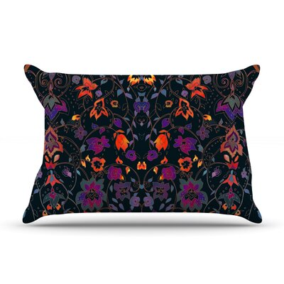 Nikki Strange Bali Tapestry Dark Pillow Case