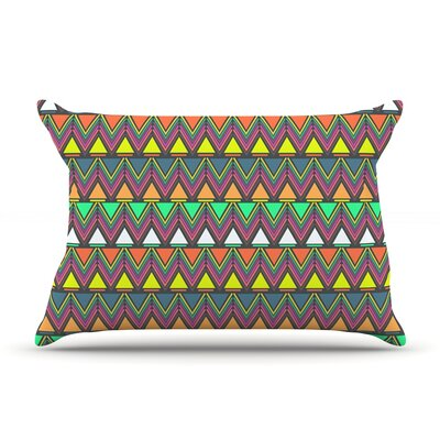 Pattern Play by Nandita Singh Featherweight Pillow Sham Size: King, Fabric: Woven Polyester