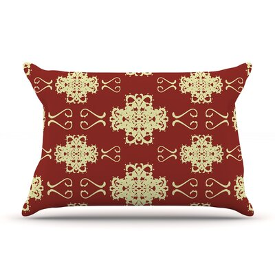 Mydeas Asian Motif Damask Pillow Case