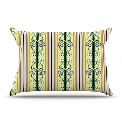 Blooming Trellis by Mydeas Featherweight Pillow Sham Size: Queen, Fabric: Woven Polyester
