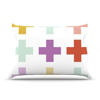 Pellerina Design Mint Orchid Plus Pillow Case