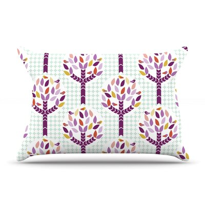 Orchid Spring Tree by Pellerina Design Featherweight Pillow Sham Size: King, Fabric: Woven Polyester
