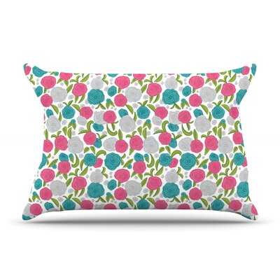 Vintage Brights by Emma Frances Featherweight Pillow Sham Size: King, Fabric: Woven Polyester