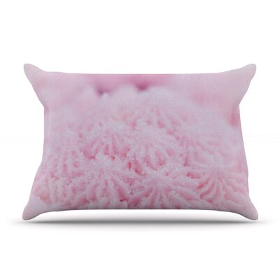 Cupcake Pink by Debbra Obertanec Featherweight Pillow Sham Size: King, Fabric: Woven Polyester