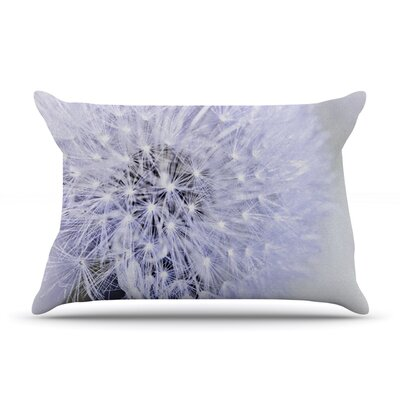 Lavender Wish by Debbra Obertanec Featherweight Pillow Sham Size: King, Fabric: Woven Polyester