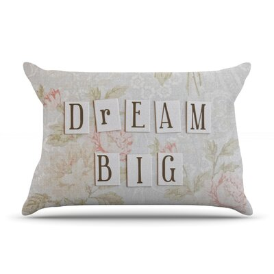 Dream Big by Debbra Obertanec Featherweight Pillow Sham Size: King, Fabric: Woven Polyester