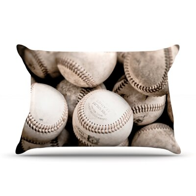On the Mound by Debbra Obertanec Featherweight Pillow Sham Size: Queen, Fabric: Woven Polyester
