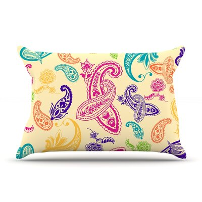 Emine Ortega Namaste Floral Abstract Pillow Case