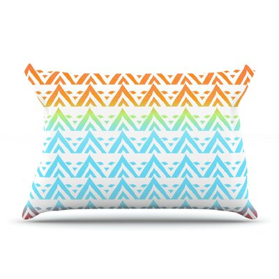 Antilops Pattern by Frederic Levy-Hadida Featherweight Pillow Sham Size: Queen, Fabric: Woven Polyester