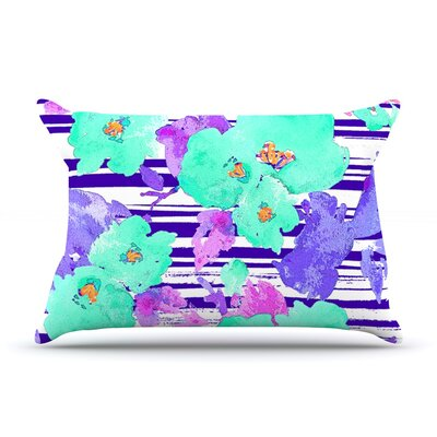 Cherry Blossom by Emine Ortega Featherweight Pillow Sham Size: Queen, Fabric: Woven Polyester