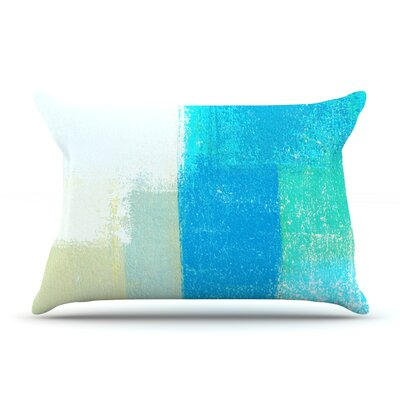 Shallow by CarolLynn Tice Featherweight Pillow Sham Size: Queen, Fabric: Woven Polyester