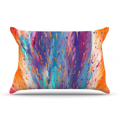 Danny Ivan Colorful Fire Cool Fire Pillow Case