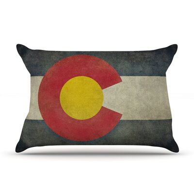 Bruce Stanfield State Flag Of Colorado Pillow Case