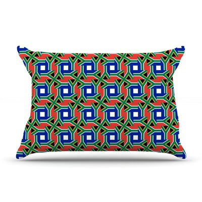 South Africa by Bruce Stanfield Featherweight Pillow Sham Size: King, Fabric: Woven Polyester