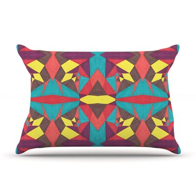 Abstract Insects by Empire Ruhl Featherweight Pillow Sham Size: Queen, Fabric: Woven Polyester