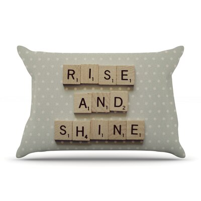 Rise and Shine by Cristina Mitchell Featherweight Pillow Sham Size: Queen, Fabric: Woven Polyester