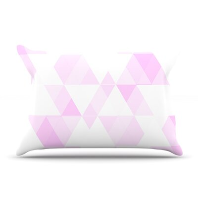 Aspire by CarolLynn Tice Featherweight Pillow Sham Size: King, Fabric: Woven Polyester