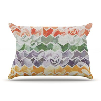 Desert Dreams by Daisy Beatrice Featherweight Pillow Sham Size: King, Fabric: Woven Polyester
