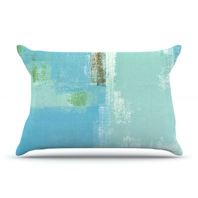 Announced by CarolLynn Tice Featherweight Pillow Sham Size: King, Fabric: Woven Polyester