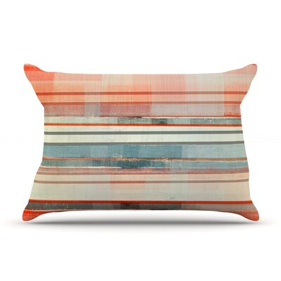 Patton by CarolLynn Tice Featherweight Pillow Sham Size: Queen, Fabric: Woven Polyester