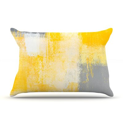 Breakfast by CarolLynn Tice Featherweight Pillow Sham Size: King, Fabric: Woven Polyester