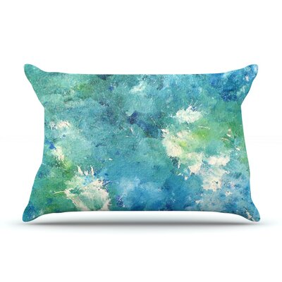 Sporatically by CarolLynn Tice Featherweight Pillow Sham Size: King, Fabric: Woven Polyester