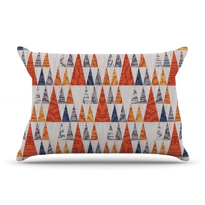 Tepee Town by Daisy Beatrice Featherweight Pillow Sham Size: King, Fabric: Woven Polyester