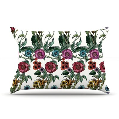Margaret by DLKG Design Featherweight Pillow Sham Size: Queen, Fabric: Woven Polyester