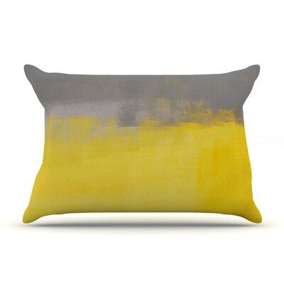A Simple Abstract by CarolLynn Tice Featherweight Pillow Sham Size: King, Fabric: Woven Polyester