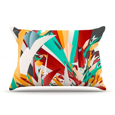 Lafaye by Danny Ivan Featherweight Pillow Sham Size: King, Fabric: Woven Polyester