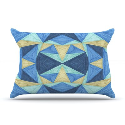 The Blues by Empire Ruhl Featherweight Pillow Sham Size: Queen, Fabric: Woven Polyester
