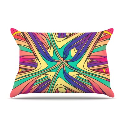 Veins by Danny Ivan Featherweight Pillow Sham Size: Queen, Fabric: Woven Polyester