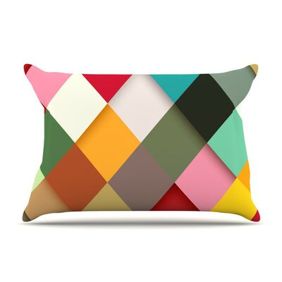 Colorful by Danny Ivan Featherweight Pillow Sham Size: Queen, Fabric: Woven Polyester