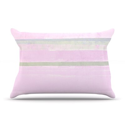 Yogurt by CarolLynn Tice Featherweight Pillow Sham Size: King, Fabric: Woven Polyester