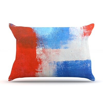 The Colors by CarolLynn Tice Featherweight Pillow Sham Size: King, Fabric: Woven Polyester