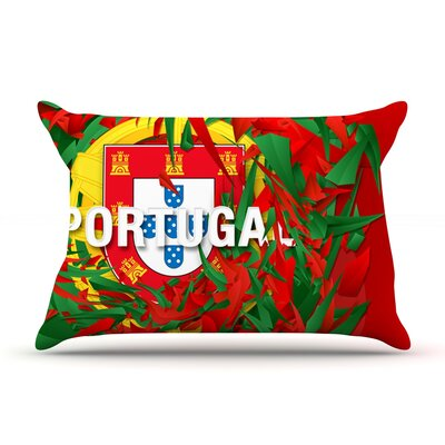 Portugal by Danny Ivan Featherweight Pillow Sham Size: King, Fabric: Woven Polyester