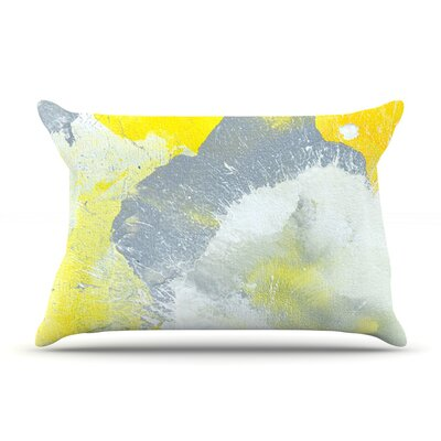 Make A Mess by CarolLynn Tice Featherweight Pillow Sham Size: King, Fabric: Woven Polyester