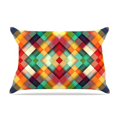 Time Between by Danny Ivan Featherweight Pillow Sham Size: Queen, Fabric: Woven Polyester
