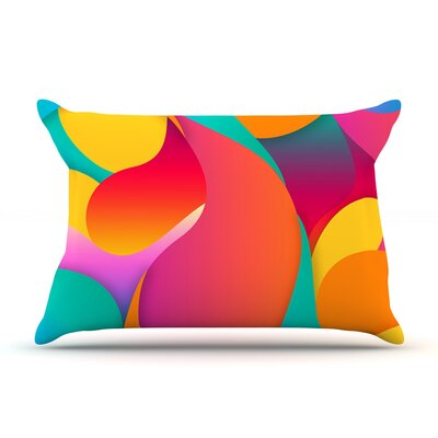 Danny Ivan Still Life Warm Abstract Pillow Case